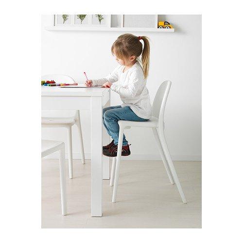 Seggiolone pappa - Ikea - URBAN Sedia junior, bianco